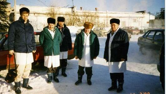 1996 - First setups are build in eastern Europe