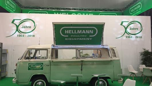 2018 - 50th anniversary of Hellmann Poultry